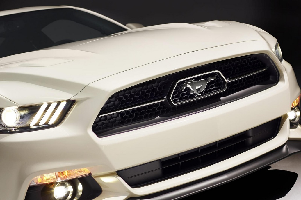 Радиаторная решетка Ford Mustang 50 Year Limited Edition