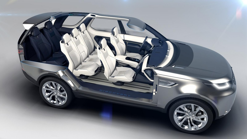 Салон Land Rover Discovery Vision