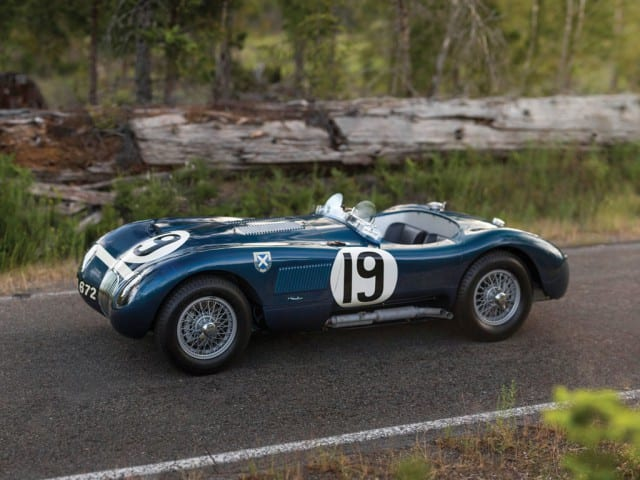 1953 Jaguar C-Type Works Lightweight