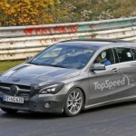 Рестайлинговый Mercedes CLA Shooting Brake проходит тесты