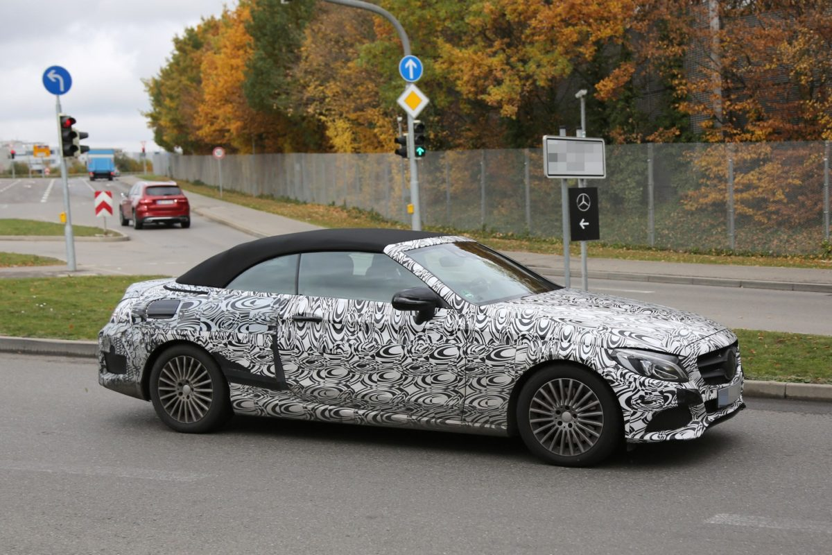 2016-mercedes-benz-c-class-cabriolet-spy-photos-1