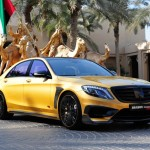 Brabus привез на выставку в Дубаи Rocket 900 Desert Gold Edition