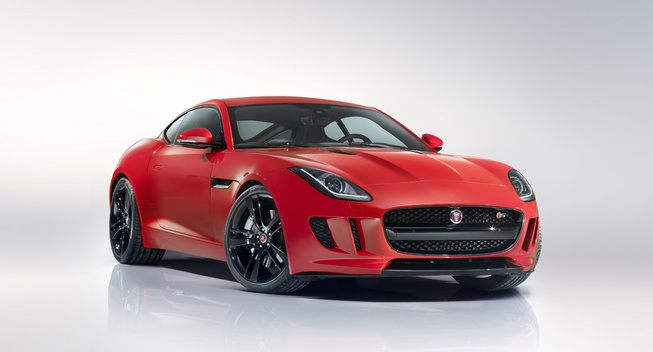 Jaguar F-Type R купе